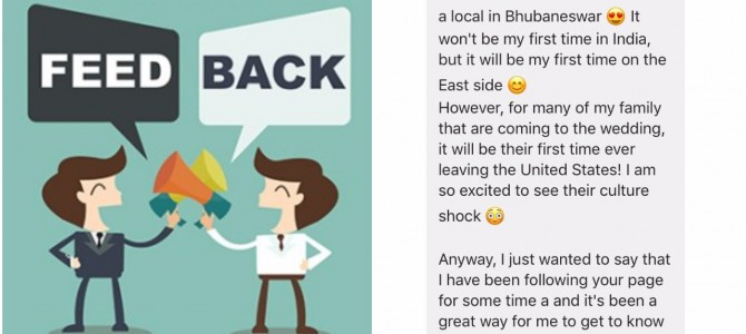 Awesome when Bhubaneswar Buzz gets feedback like this from an American