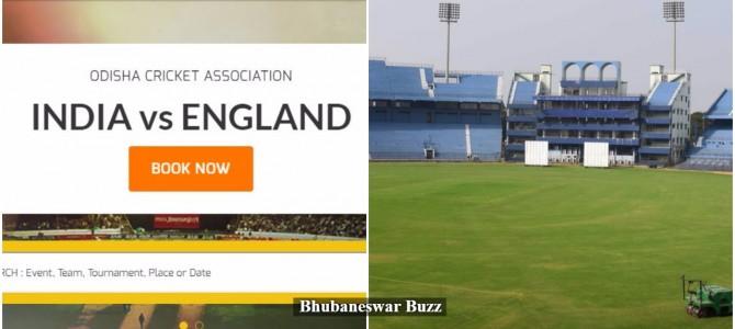 Electronic Scoreboard and 10 large screens for public outside stadium for India vs England ODI at Barabati