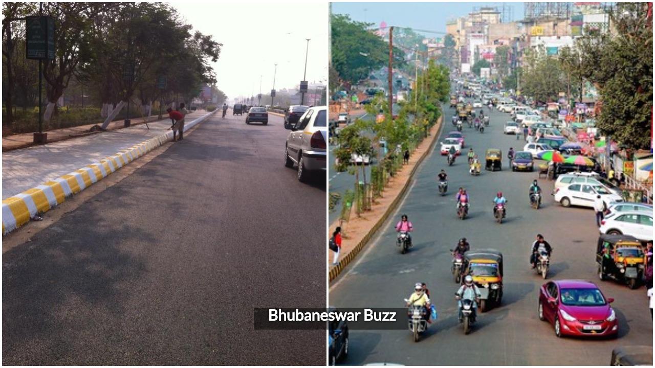Bhubaneswar cycle roads encroachment bbsrbuzz