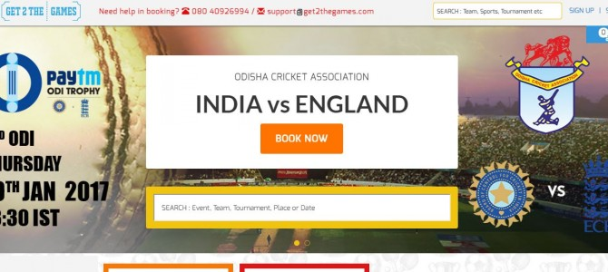 Online Tickets Selling Fast already for upcoming India England ODI Cricket at Barabati Stadium