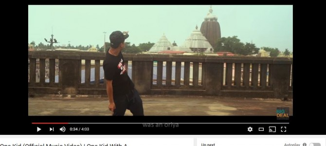 Don't miss this awesome English Rap Song Shot in multiple odisha locations by Big Deal aka Samir Rishu Mohanty