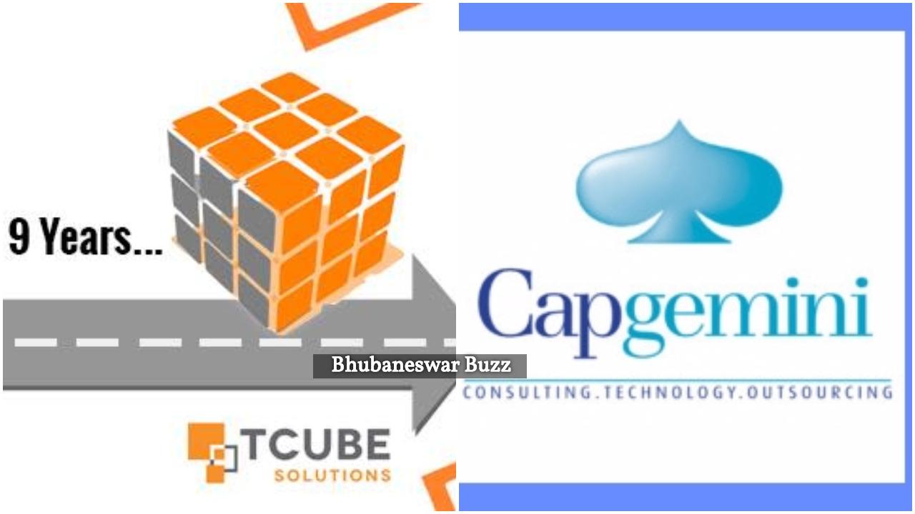 Capgemini acuires bhubaneswar buzz TCube software