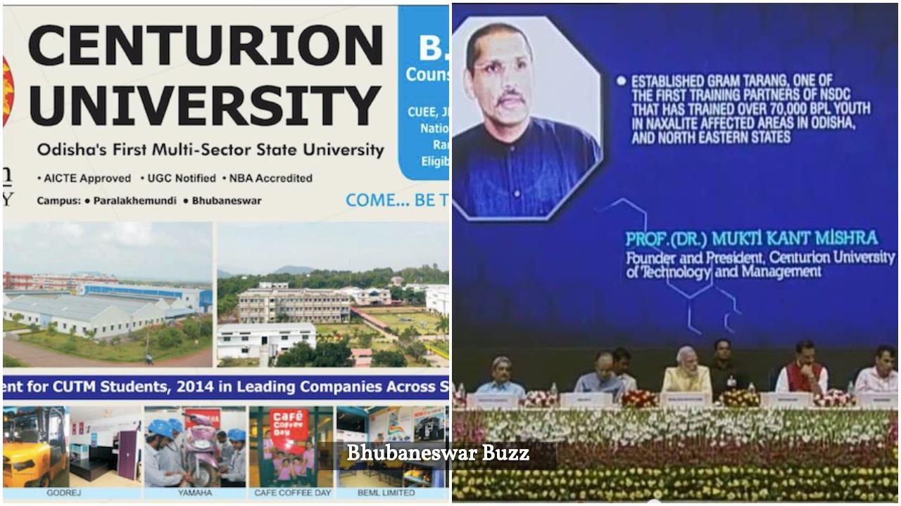 Nice to see Bhubaneswar based Centurion university growing