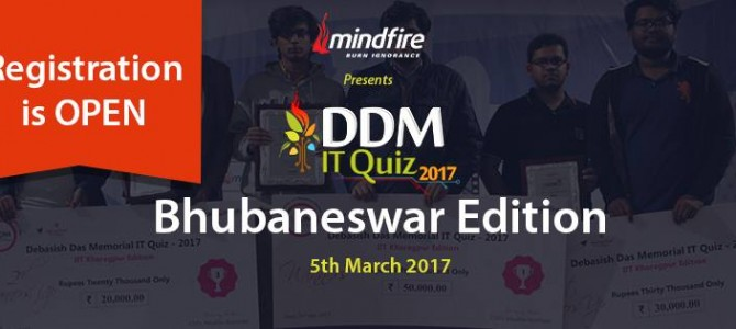 The High Voltage DDM IT Quiz Free Registration is Open Now!