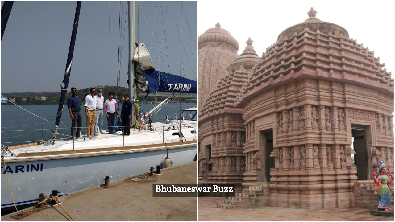 Indian Navy Tarini ship temple odisha