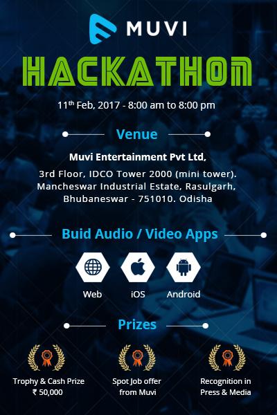 Muvi Hackathon Brochure