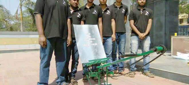 Hand Operated Rice Transplanting Machine : heard about this innovation from VSSUT Burla students?