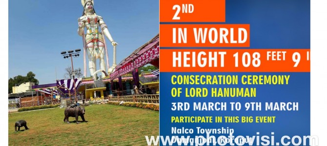 Damanjodi all set to inaugurate World's Second Tallest Hanuman Statue from Mar 3-9