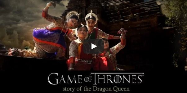 When an Odissi Dancer from Odisha reimagines Game of Thrones Story, don't miss this video