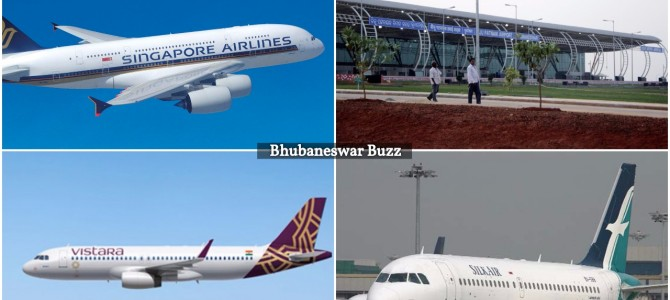 With Singapore Airlines and SilkAir codeshare with Vistara now Bhubaneswar Airport part of SIA network