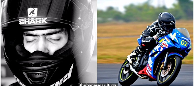 First Professional Motorracer from Odisha Udipta completes 1st round of Malaysian Superbike Champ at 10th position