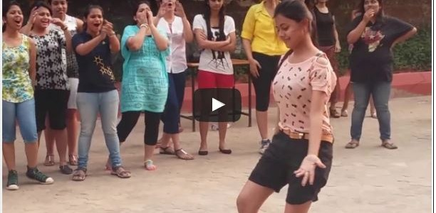 A video with Title Odisha college girls dance has gone viral big time with 10 million views, seen it yet?