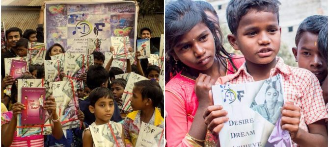 An inspiring story on how Desire Foundation is giving the gift of education to the underprivileged