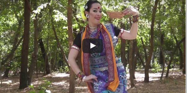 Seen this Dalkhai Shambalpuri Folk Dance video featuring Angelina Ukhanova Russian Dancer?