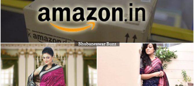 Amazon India ties up with weavers in Odisha to market and sell Sambalpuri Sarees