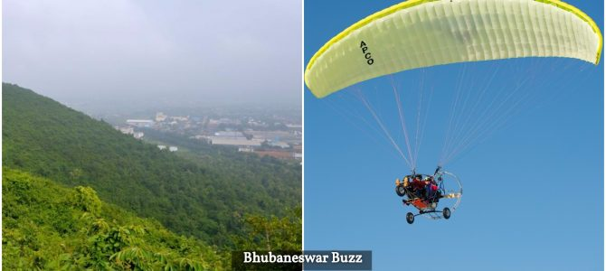 Adventure lovers can enjoy short flying trips with paramotoring in Bhubaneswar now