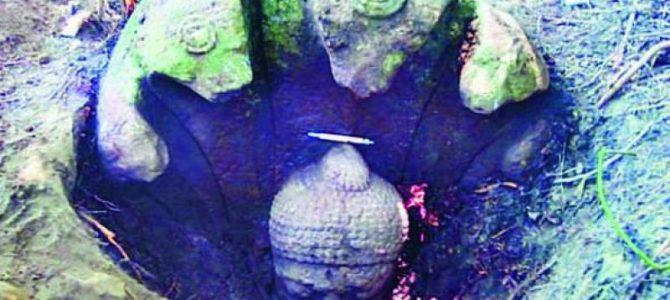 1,400 year old Buddha idol found at Govindapur near Banapur in Odisha