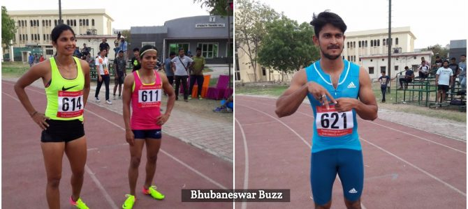 Amiya Mallick and Dutee Chand of Odisha win Gold in 100m to reaffirm India's fastest tag for them