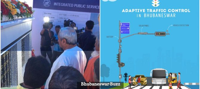 CM inaugurates Adaptive Traffic Signal Control System, lays  foundation stones of four other Smart City projects