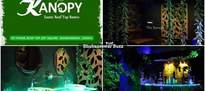 Heard about the new Jungle Themed Rooftop restaurant Kanopy in bhubaneswar yet?
