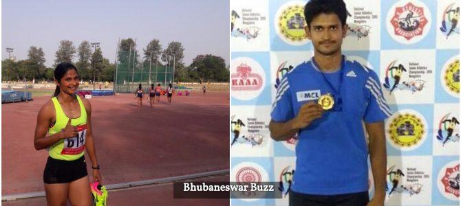 Fastest In India, Odisha Sprinters Amiya and Srabani win 200m Gold in Federation Cup National Senior Athletics