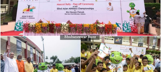 Olly the official mascot for Asian Athletics Championship has been unveiled in a ceremony by Odisha CM