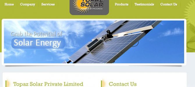 Topaz Solar Power to set up 500 Mw unit in Odisha, will be the first solar panel manufacturing facility in the state