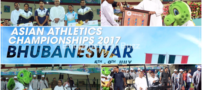 Asian Athletics Championships: Odisha CM inaugurates synthetic track at Kalinga stadium