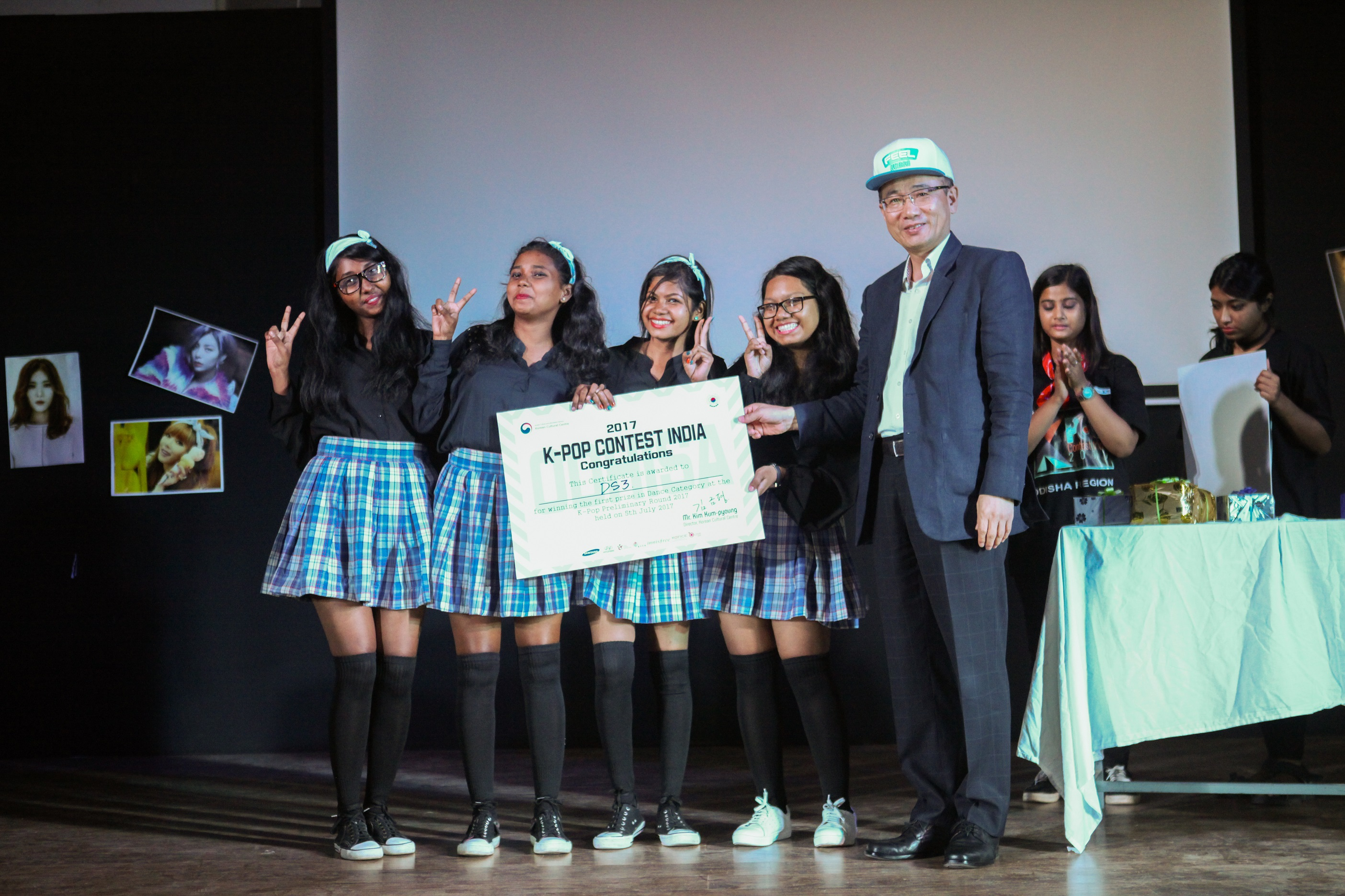 Bhubaneswar hosted its first ever K-Pop Contest on 5th July hosted