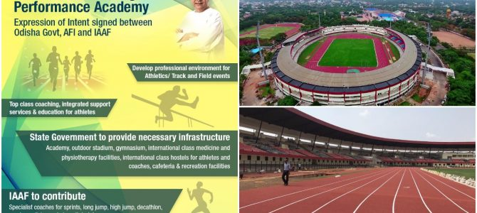 International Association of Athletics Federations ties up with Odisha (First in India) for training academy of athletes