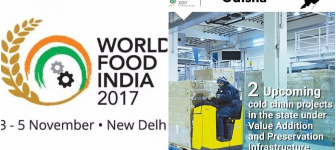 Odisha will be the 'Focus State' in the upcoming World Food India (WFI)-2017 event in Delhi