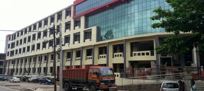 Civic body cautions buyers not to purchase shops/rooms from Unit IV market complex