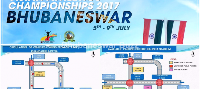 Asian Athletics Championship : All you need to know about restricted vehicular movement in the city