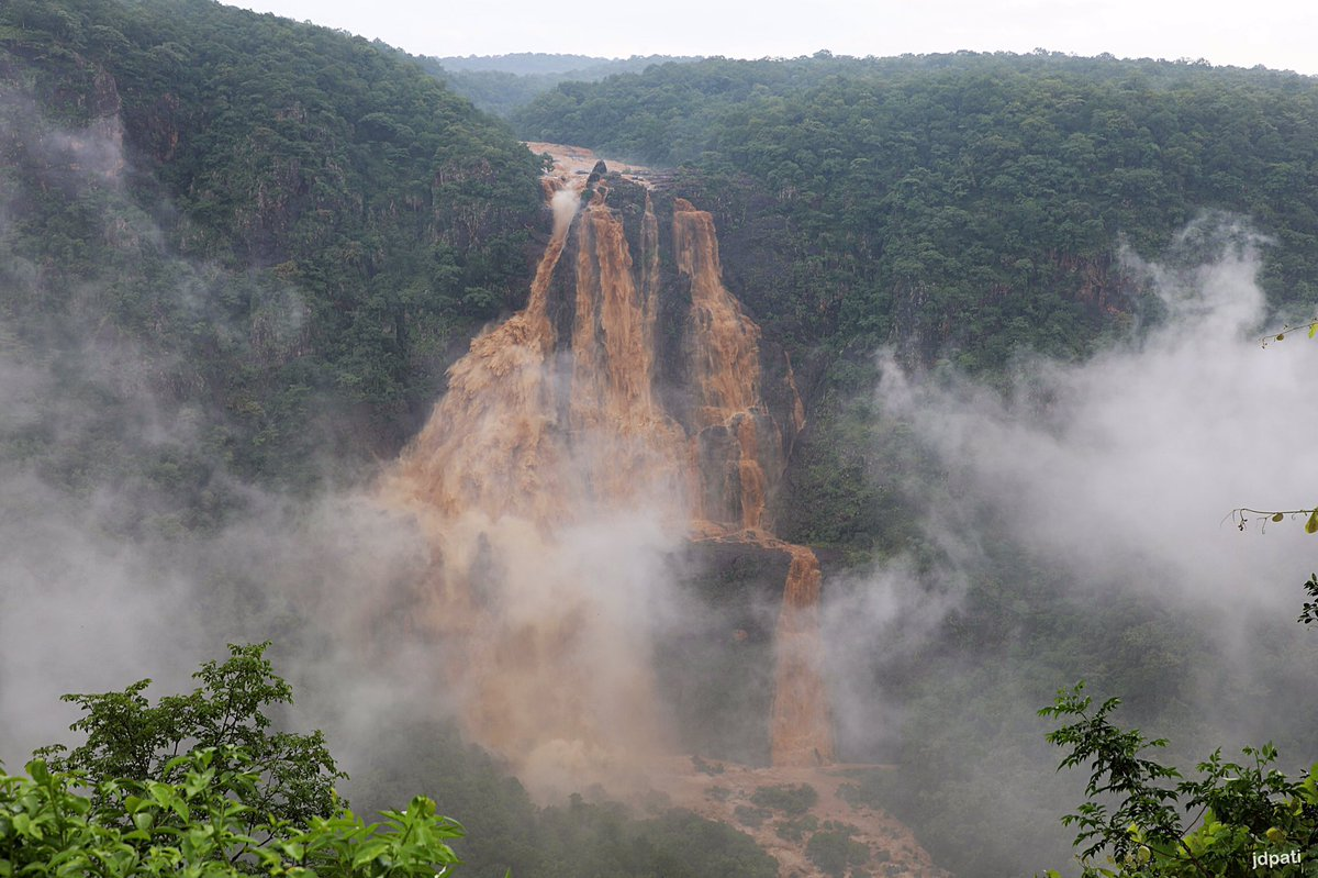 Barehipani Waterfalls after rain