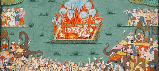 Widowhood: Life of a Living Sati – A Blog by Debajani Mohanty