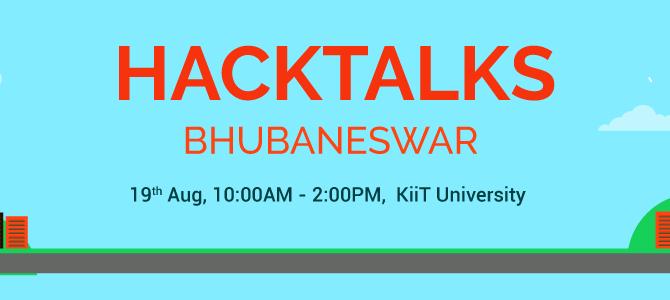 Startup Skillenza all set to organize Hacktalks on August 19th in Bhubaneswar