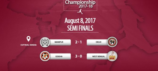 Odisha girls thrashed West Bengal 3-0 to reach finals in Junior National Girls' football championships