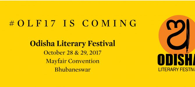 New Indian Express presents Sixth Edition of Odisha Literary Festival coming up on October 28,29