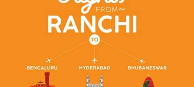 Awesome to see Air Asia now launch daily flights between Ranchi and Bhubaneswar