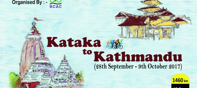 Bhubaneswar Cycling and Adventure Club members plan to cycle from Cuttack to Kathmandu