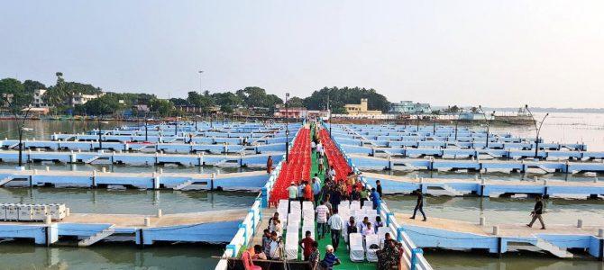 CM Naveen Pattnaik inaugurates recreational Jetty at Satpada Puri with spending of 19 crores to build it