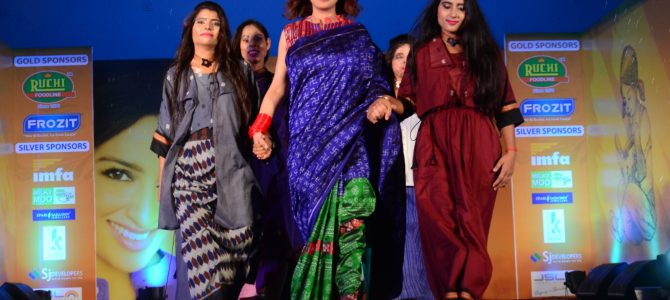 Acid Attack survivors walk the ramp in Second Edition of Kiah fashion show by Parichay foundation