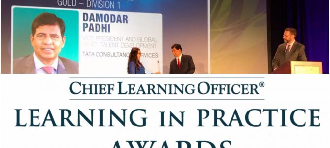 NIT Rourkela Alumni Damodar Padhi of Tata Consultancy Services wins Chief Learning Officer Award at Los Angeles USA