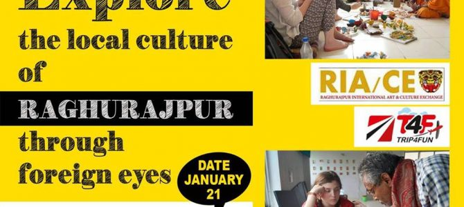 Raghurajpur International Art/Craft Gives you a chance this time to explore local art forms from Foreigner's persepective