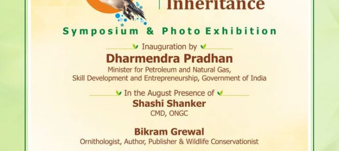 ONGC is organizing a symposium and photo-exhibition titled The Mangalajodi Inheritance at New Delhi on January 6, 2018