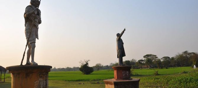 Statue of Lenin toppled in Tripura, heard about this unique village in Odisha where both Gandhi and Lenin statue stand together? Article by Anil Dhir