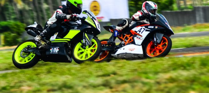 You might not have heard, but First professional motorcycle racing team of Odisha Narasim Racing made debut in Nationals
