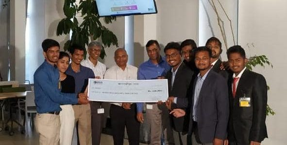 Idea & Innovation Cell VSSUT Burla wins Grand Finale of Anveshan 2018 organized by Analog Devices to design an innovative product to, uplift the standard of living of our society