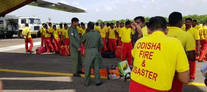 Among agencies that rushed to Kerala for rescue operations Odisha Fire Force had the best storied operational history dating back to 1942