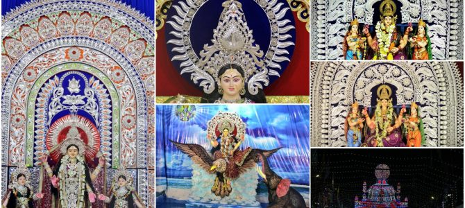 A virtual tour of beautiful Dhenkanal Laxmi Puja Pandals via the lens of Ashwas